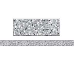 Magnetic Magi-Strips Silver Sparkle, ASH30101