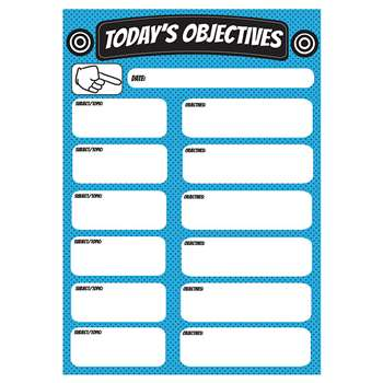Objectives Large Magnetic Chart, ASH70004
