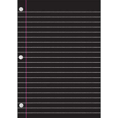 Big Magnetic Charts Notebook Paper, ASH75000