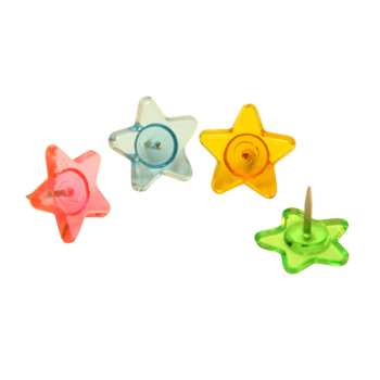 Fancy Push Pins Stars By Baumgartens