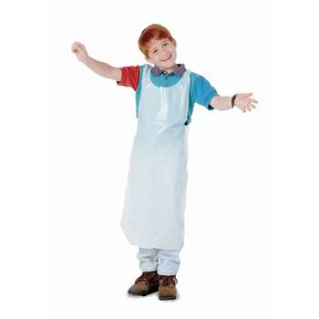 Childrens Disposable Aprons 100Pk By Baumgartens