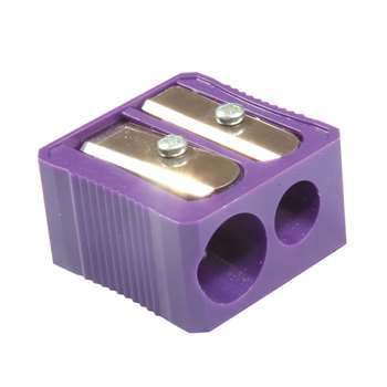 Dual Hole Plastic Pencil Sharpener By Baumgartens