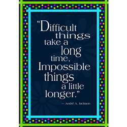 Impossible Things Take Longer Poster By Barker Creek Lasting Lessons