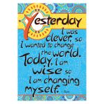 Poster - Today Im Wise, BCP1822