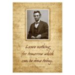 Poster - Abraham Lincoln, BCP1826