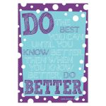 Poster - Do Your Best, BCP1828