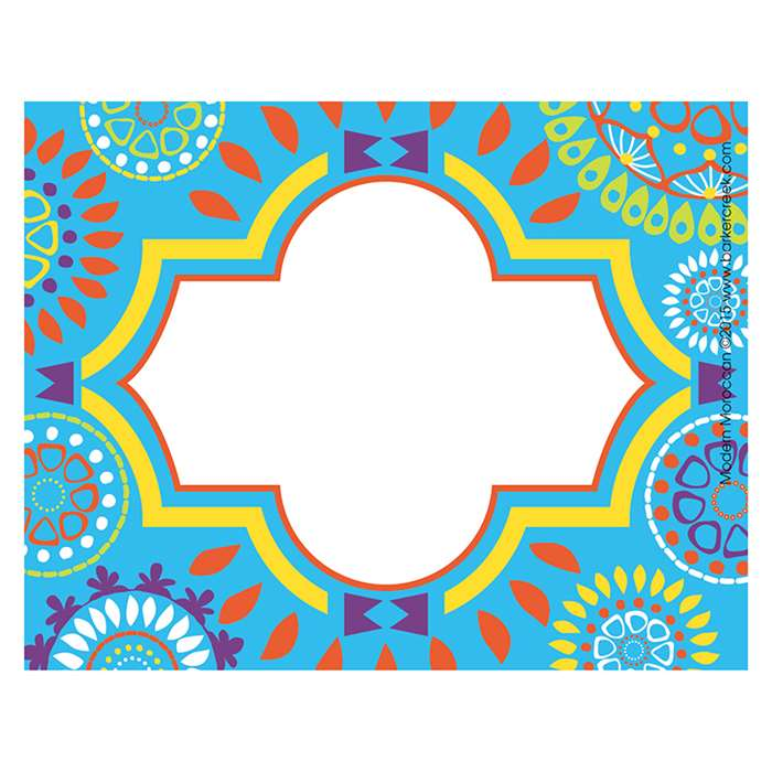 Moroccan Name Tags Self Adhesive Labels, BCPLL1530