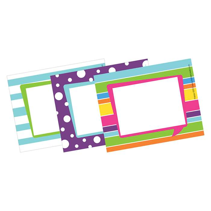 Happy Name Tags Self-Adhesive Labels, BCPLL1531
