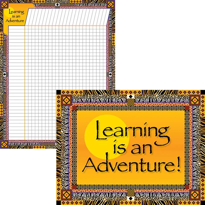 Learning Is An Adventure Chart Set, BCPLL519