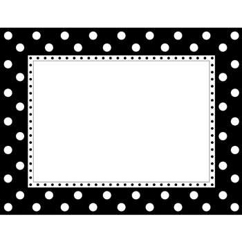 Black & White Dot Chart By Barker Creek Lasting Lessons