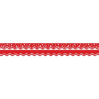 Happy Cherry Double-Sided Border Scalloped Edge, BCPLL900