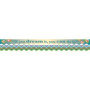 You Can Do It Border Double-Sided Scalloped Edge, BCPLL904