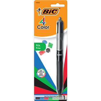 Bic 4 Color Pen With Grip By Bic Usa