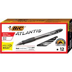Bic Velocity Bold Blk 12Ct Pens By Bic Usa