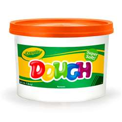 Modeling Dough 3Lb Bucket Orange By Crayola