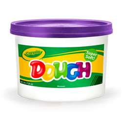 Modeling Dough 3Lb Bucket Purple By Crayola