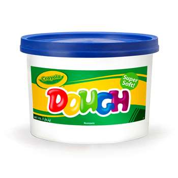 Modeling Dough 3Lb Bucket Blue By Crayola