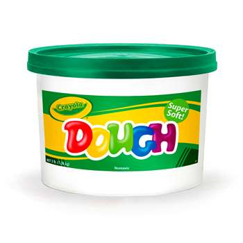 Modeling Dough 3Lb Bucket Green By Crayola