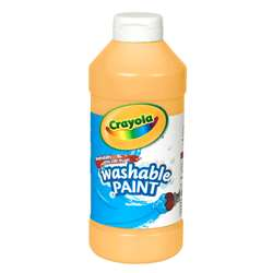 Crayola Washable Paint 16 Oz Peach By Crayola