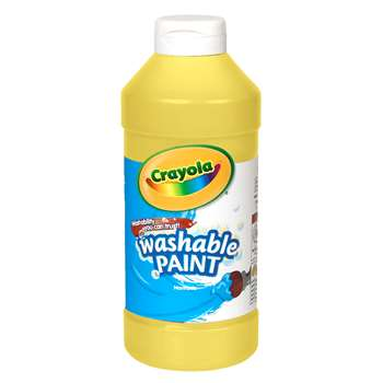 Crayola Washable Paint 16 Oz Yellow By Crayola