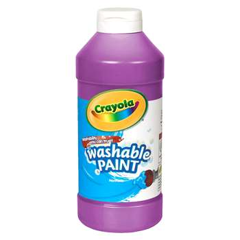 Crayola Washable Paint 16 Oz Violet By Crayola