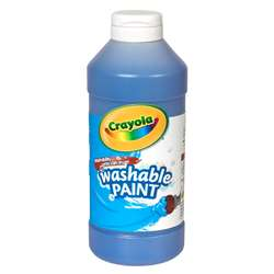 Crayola Washable Paint 16 Oz Blue By Crayola