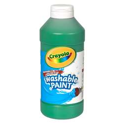 Crayola Washable Paint 16 Oz Green By Crayola