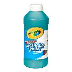 Crayola Washable Paint 16Oz Turquoise By Crayola