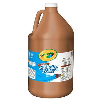 Washable Paint Gallon Brown By Crayola
