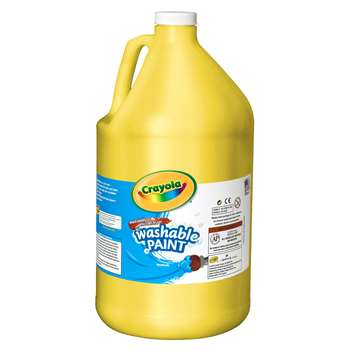 Washable Paint Gallon Yellow By Crayola