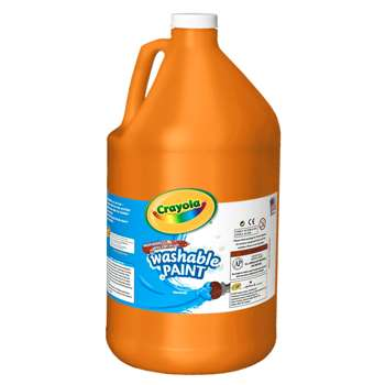 Washable Paint Gallon Orange By Crayola