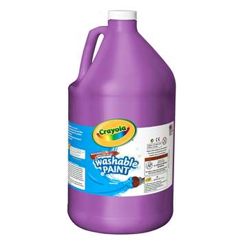 Washable Paint Gallon Violet By Crayola