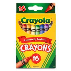 Crayola Crayons 16 Color Peggable By Crayola