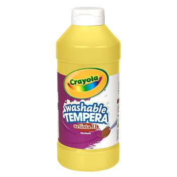 Tempera Paint 16 Oz Yellow By Crayola