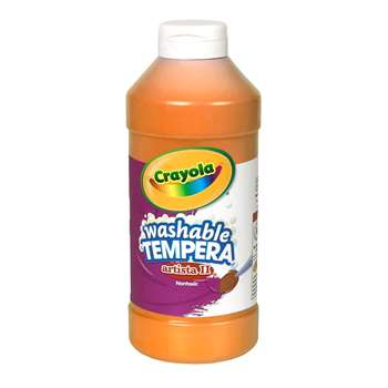 Tempera Paint 16 Oz Orange By Crayola