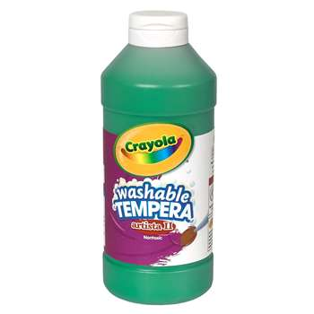 Tempera Paint 16 Oz Green By Crayola