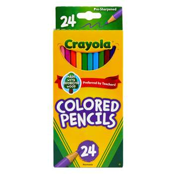 Crayola Colored Pencils 24Pk Asst By Crayola