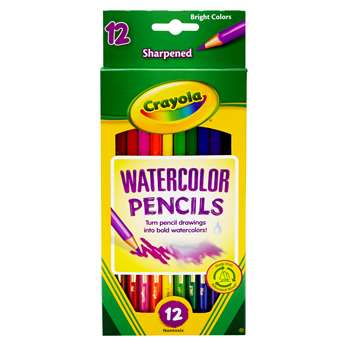 Watercolor Pencils Full Length By Crayola