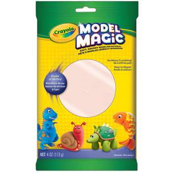 Crayola Model Magic Modeling Compound-Bisque By Crayola