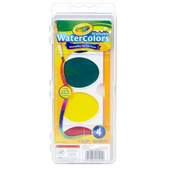 So Big Washable Watercolors By Crayola