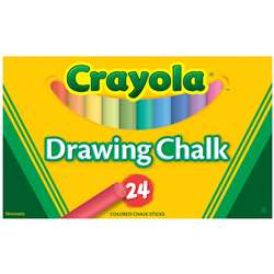 Crayola Colored Drawing Chalk 24 S By Crayola