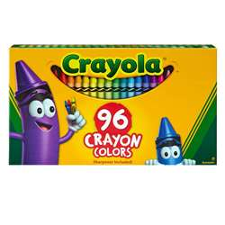 Crayola 96Ct Crayons Hinged Top Box By Crayola
