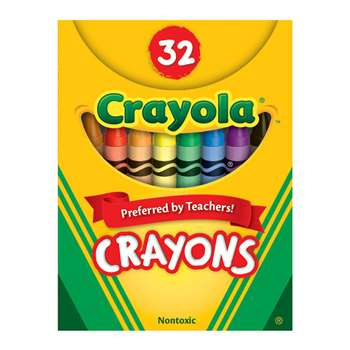 Crayola Crayons 32Ct Tuck Box By Crayola
