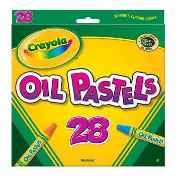 Crayola Oil Pastels 28 Color Set By Crayola