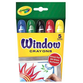 Crayola Washable Window Crayons By Crayola