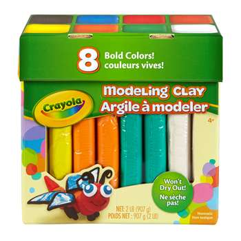 Modeling Clay 2lb Jumbo Assortment, BIN570315