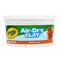 Crayola Air Dry Clay 2 1/2Lb Terra Cotta By Crayola
