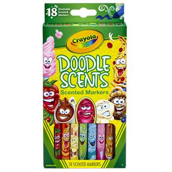 Doodle Scents Markers 18 Colors, BIN585070