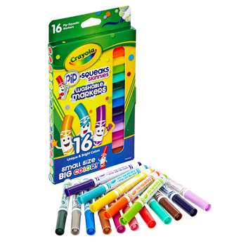 Crayola Pip-Squeaks Skinnies Markers - 16 Pack By Crayola