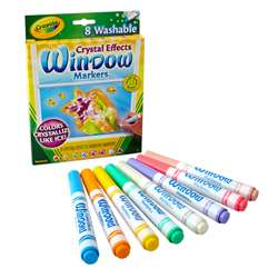Crayola Crystal Effects Window Markers, BIN588174